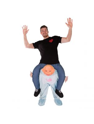 Adult Piggyback Baby Costume