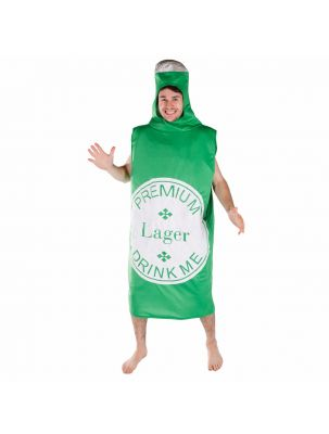 Adult Beerbottle Costume