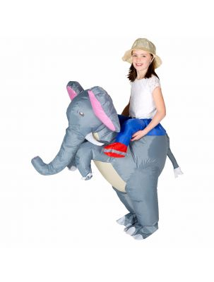 Kids Inflatable Elephant Costume