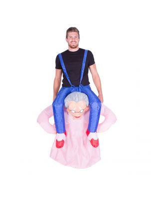Adult Inflatable Grandma (Old Lady) Costume