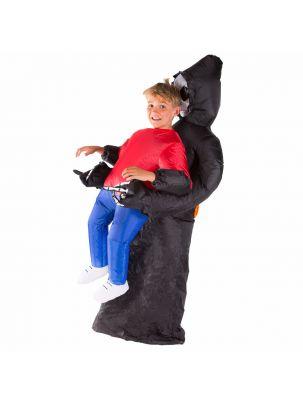Kids Inflatable Grim Reaper Costume