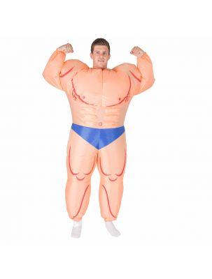 Adult Inflatable Bodybuilder (Muscleman) Costume