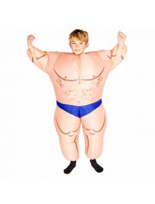Kids Inflatable Bodybuilder (Muscleman) Costume