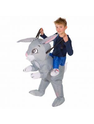 Kids Inflatable Rabbit Costume
