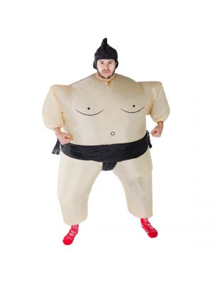 Adult Inflatable Sumo Costume