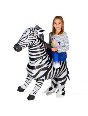 Kids Inflatable Zebra Costume