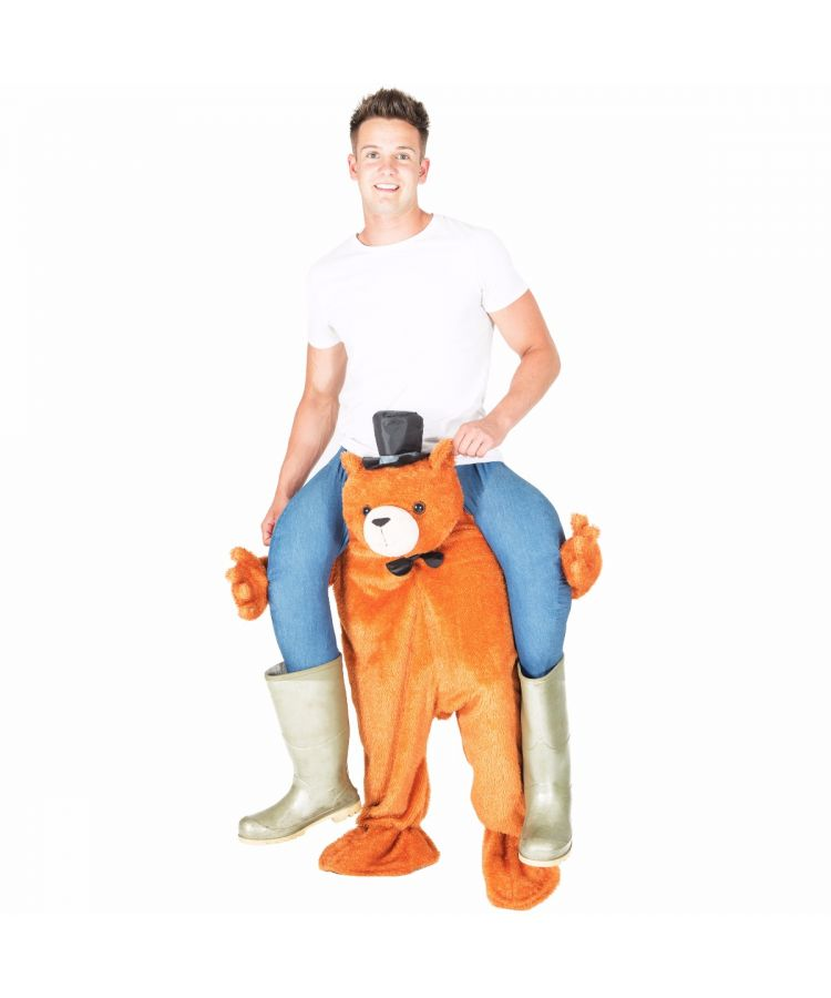 Adult Piggyback Bear Costume