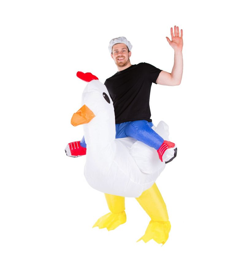 Adult Inflatable Chicken Costume