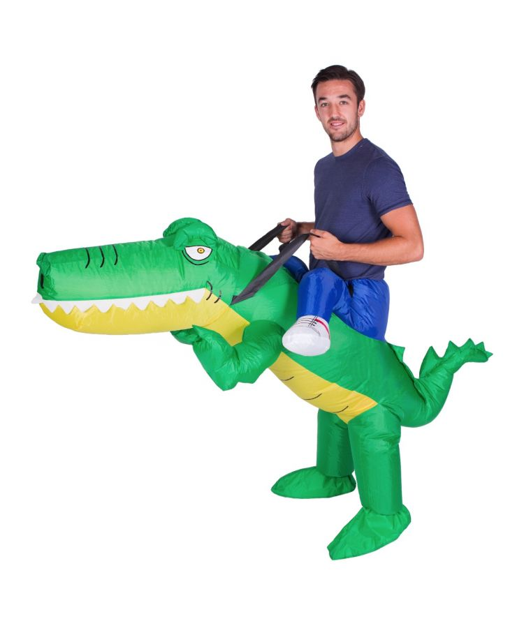 Adult Inflatable Crocodile Costume
