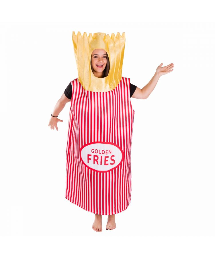 Adult Fries Costume