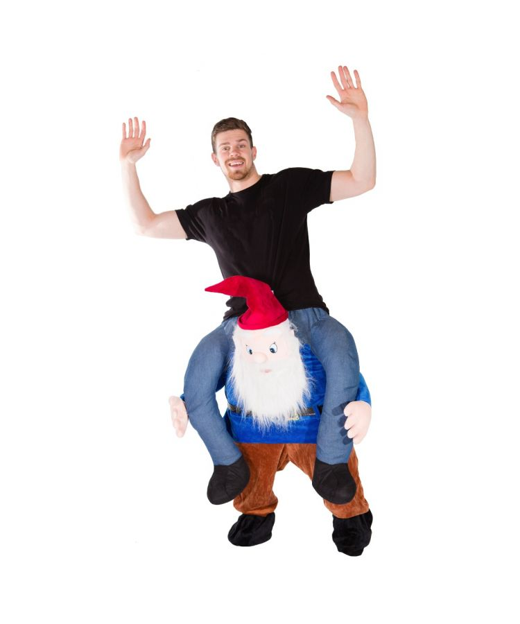 Adult Piggyback Gnome Costume