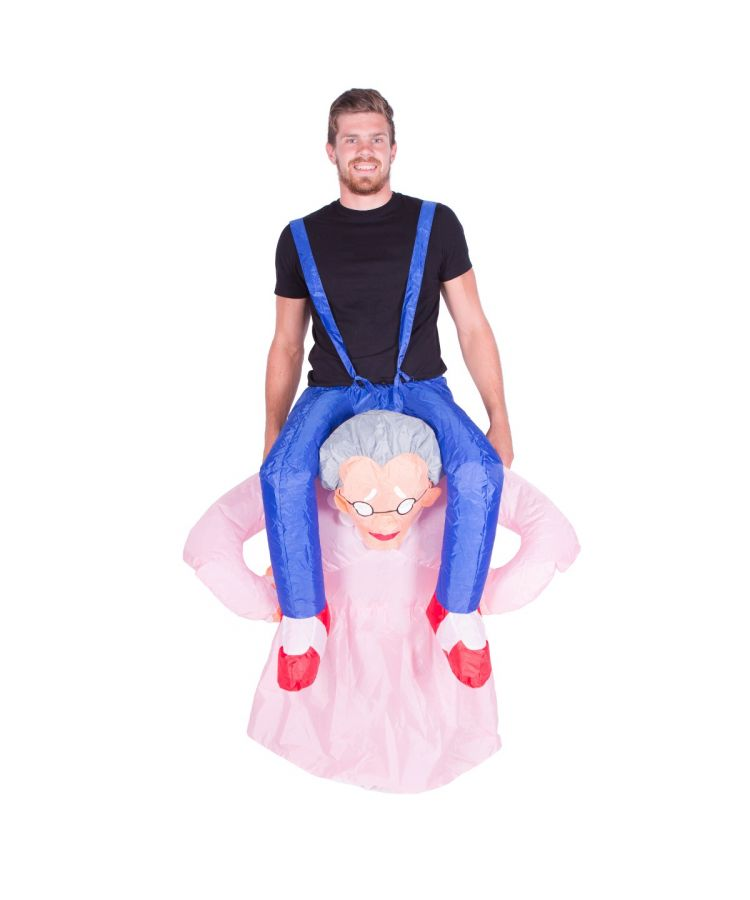 Adult Inflatable Grandma (Old Lady) Costume
