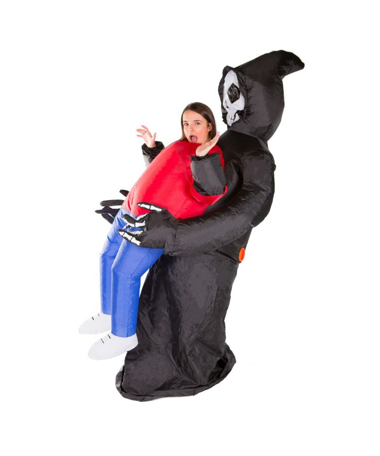 Adult Inflatable Grim Reaper Costume