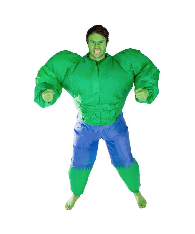 Adult Inflatable Hulk Costume