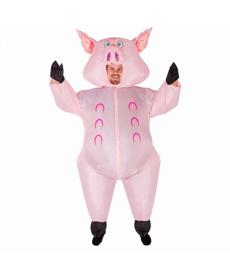 Adult Inflatable Pig Costume
