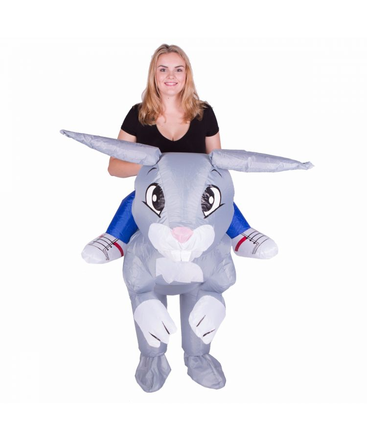Adult Inflatable Rabbit Costume