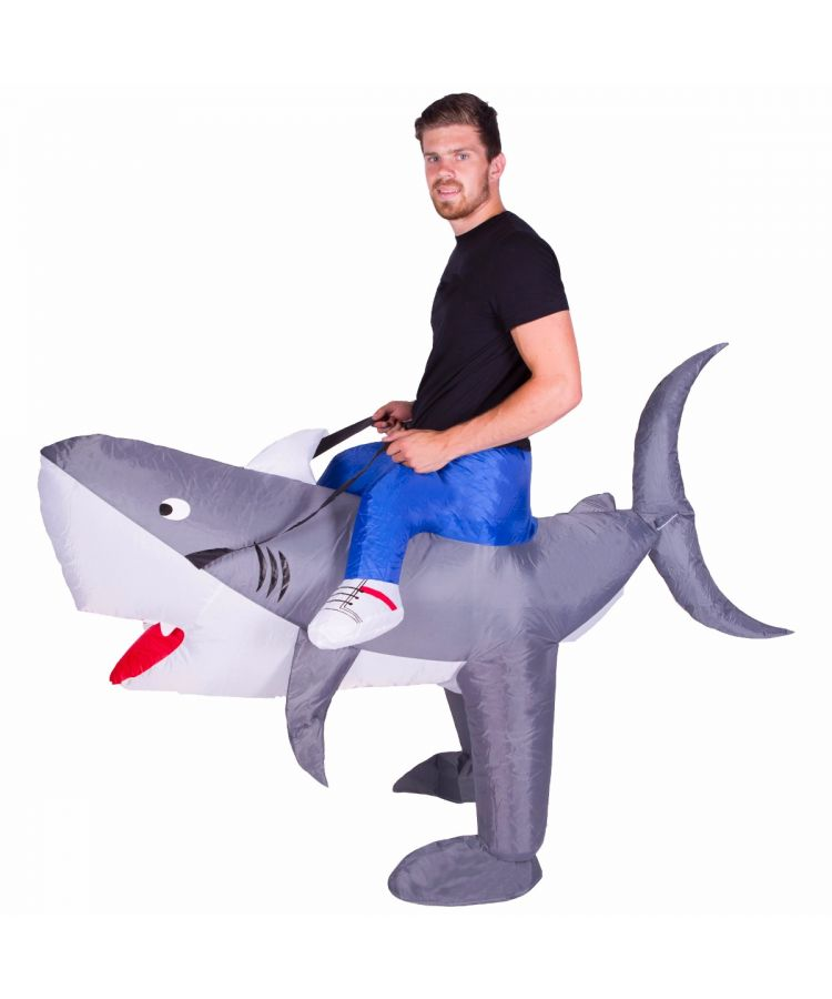 Adult Inflatable Shark Costume