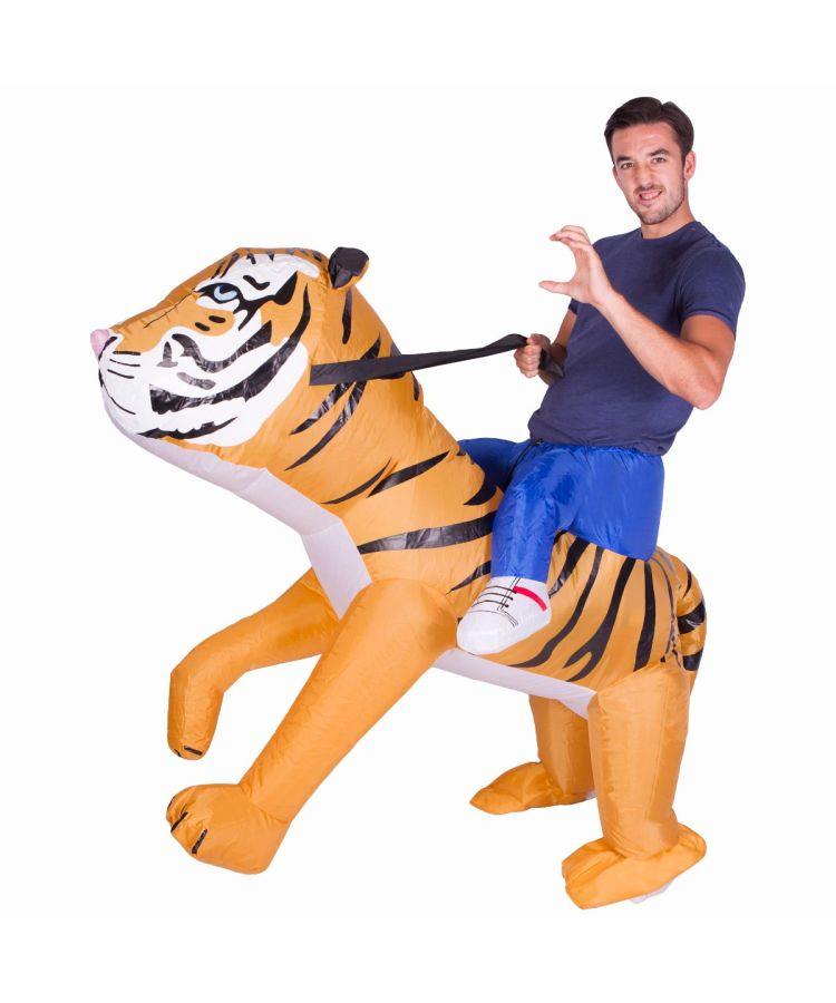 Adult Inflatable Tiger Costume