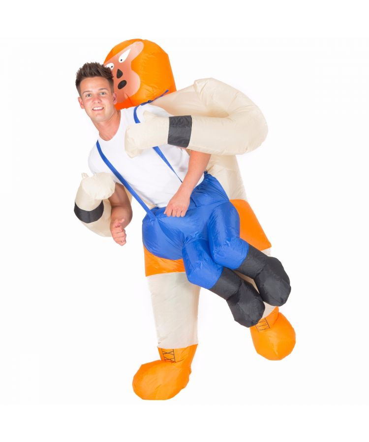 Adult Inflatable Wrestler Costume