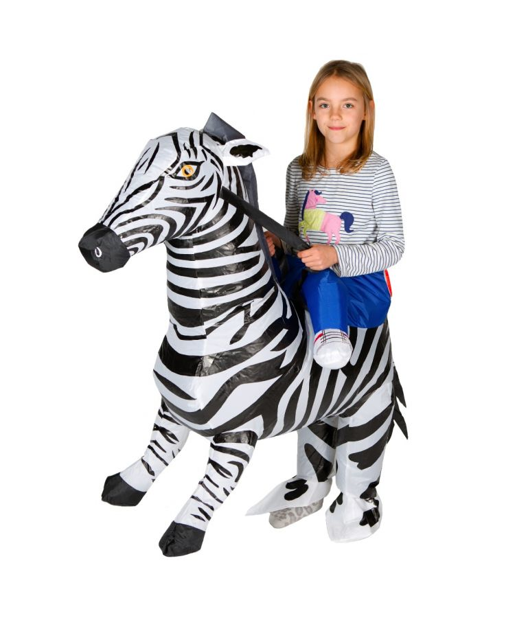 Kids Inflatable Zebra Costume