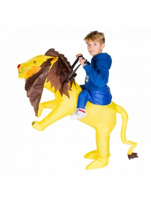 Kids Inflatable Lion Costume
