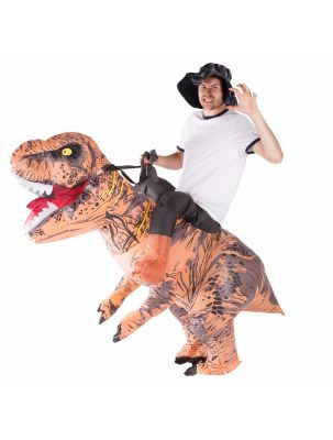 Adult Inflatable Deluxe Dinosaur Costume