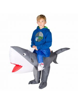 Kids Inflatable Shark Costume