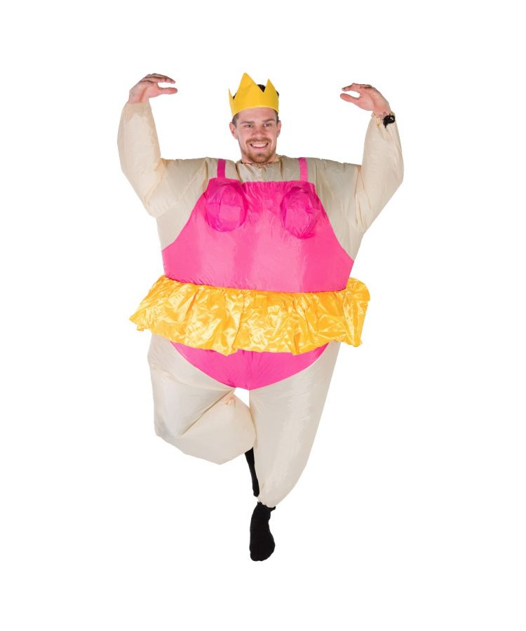 Adult Inflatable Ballerina Costume