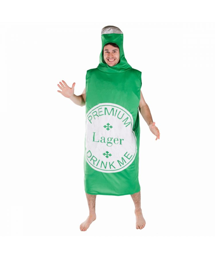 Adult Beerbottle Costume