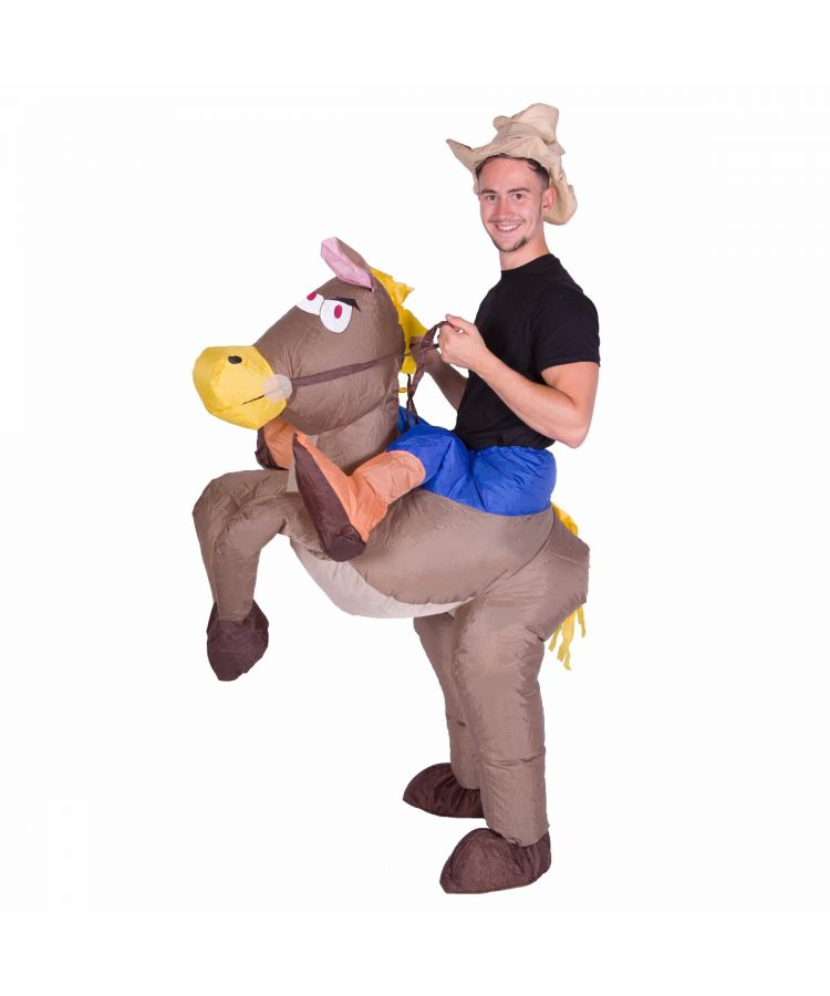 Adult Inflatable Cowboy Costume