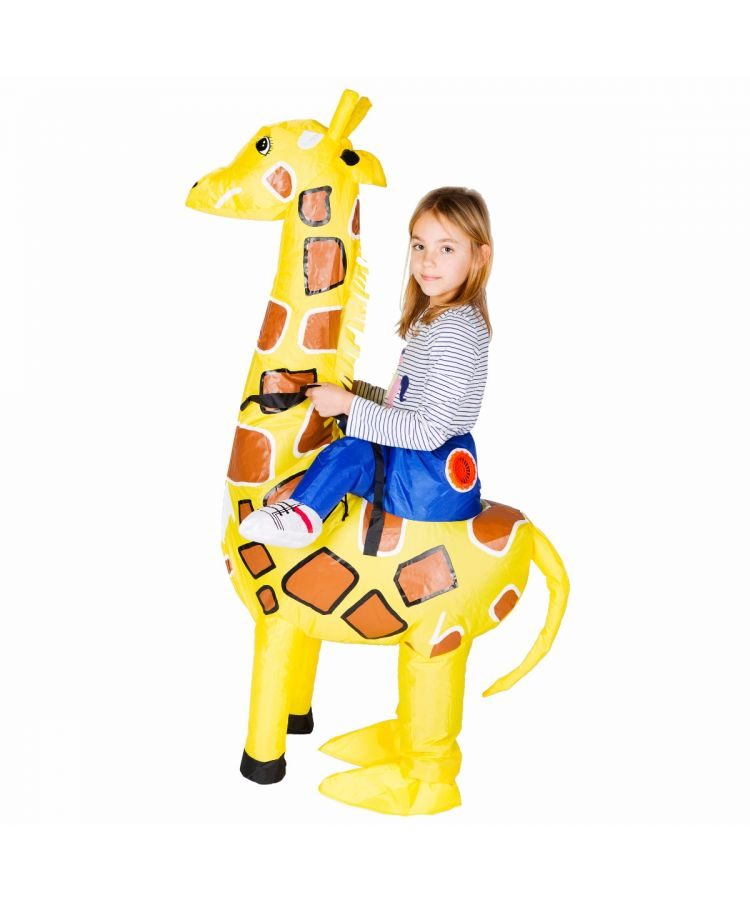 Kids Inflatable Giraffe Costume
