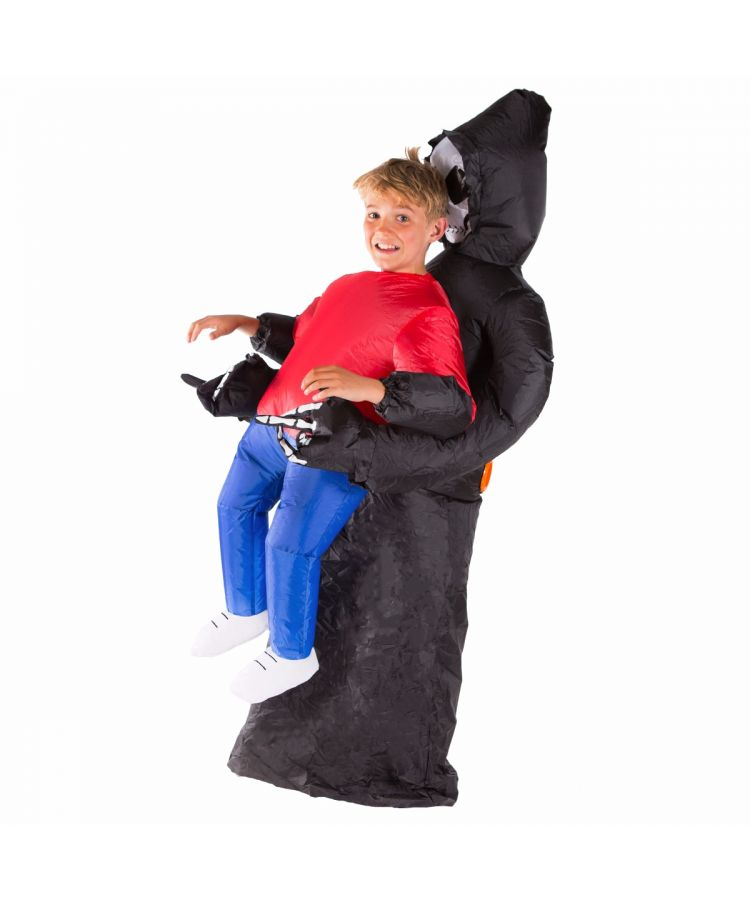 Kids Inflatable Grim Reaper Costume
