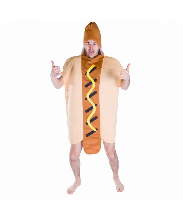 Adult Hotdog Costume