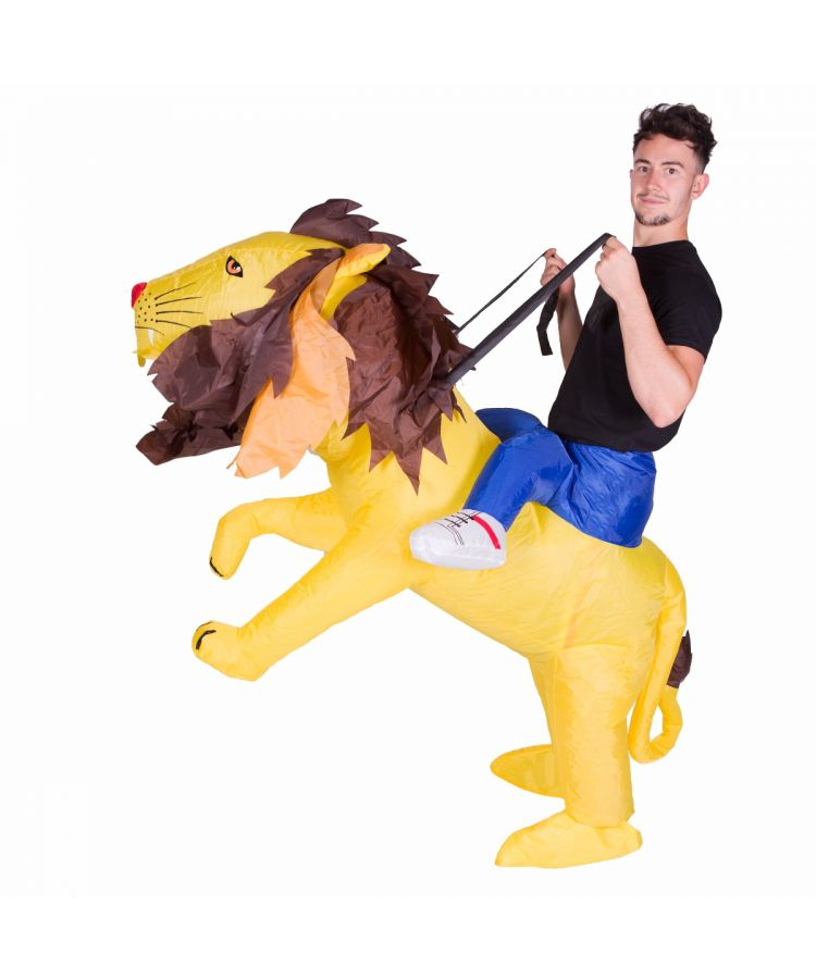 Adult Inflatable Lion Costume