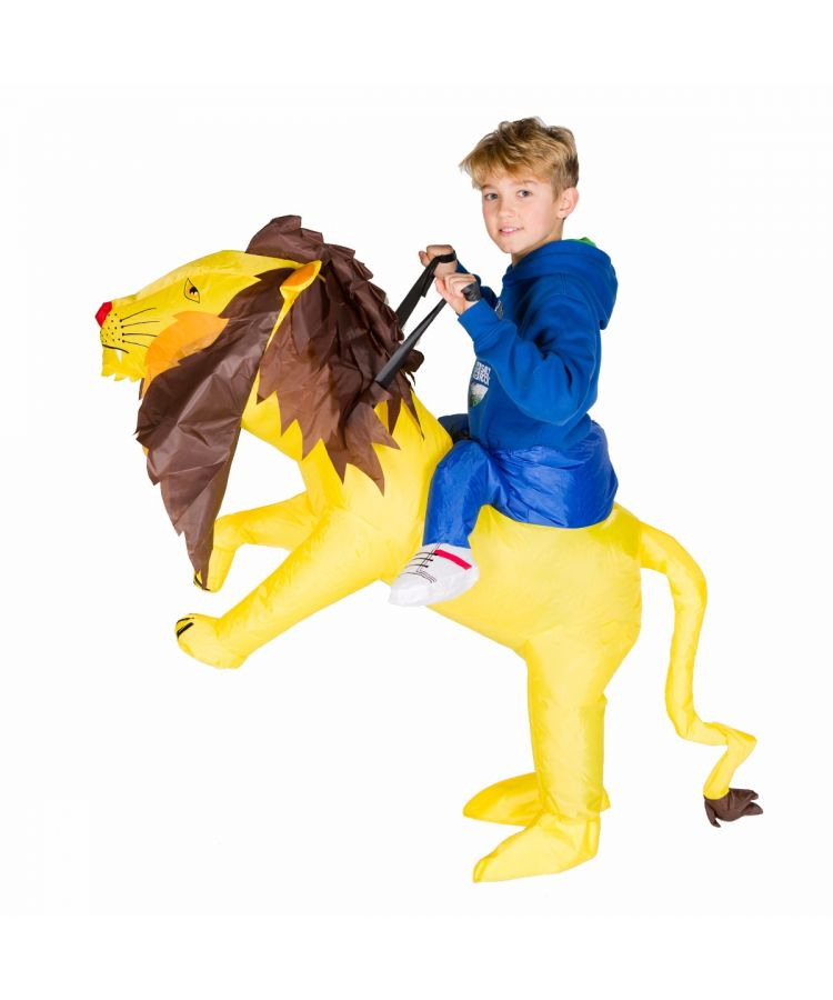 Kids Inflatable Lion Costume