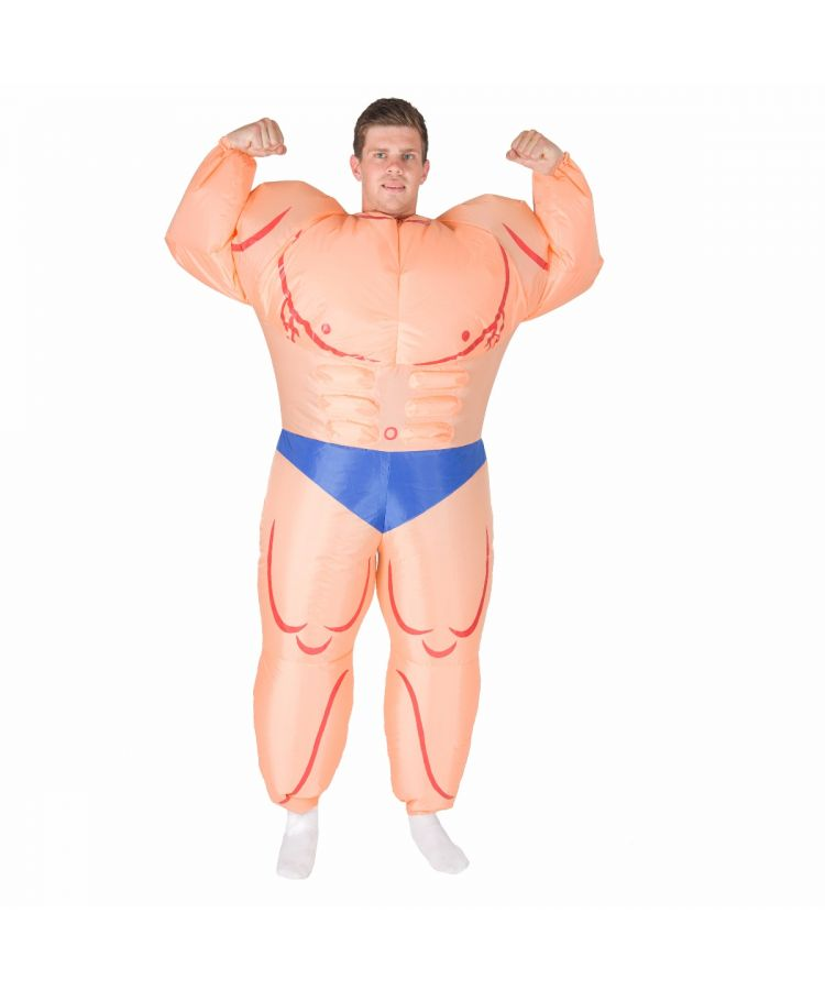 Adult Inflatable Bodybuilder (Muscleman) Costume